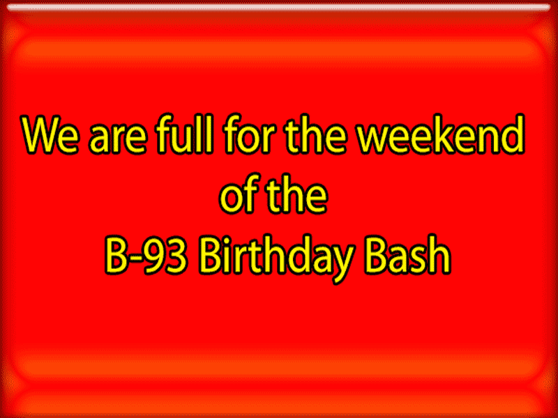 B93 Birthday Bash Full